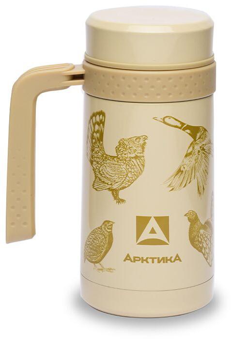 Термос-Кружка Арктика 412-500 0.5Л Птицы