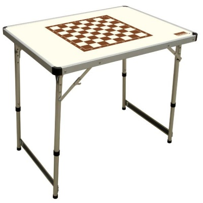 Стол Campingworld Chess Table Ivory фото