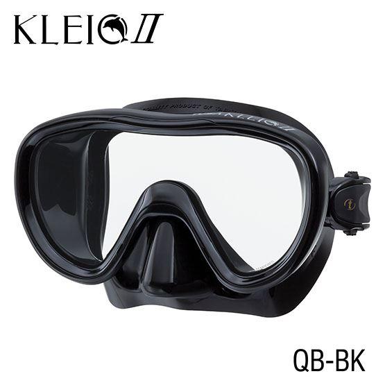 Маска Подводная Tusa Kleo Ii (Черный Силикон) Black