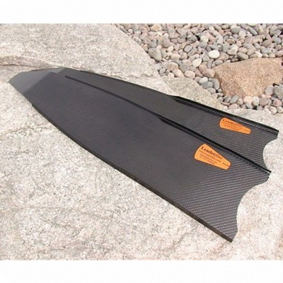Лопасти Для Ласт Leaderfins Stereoblades Waves Carbon Hard Для Beuchat (2Шт.) фото