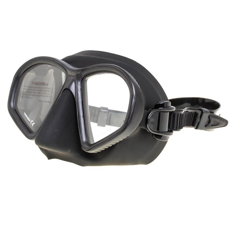 Маска Marlin MATTE с просветленным стеклом, черная, 13089  - купить со скидкой
