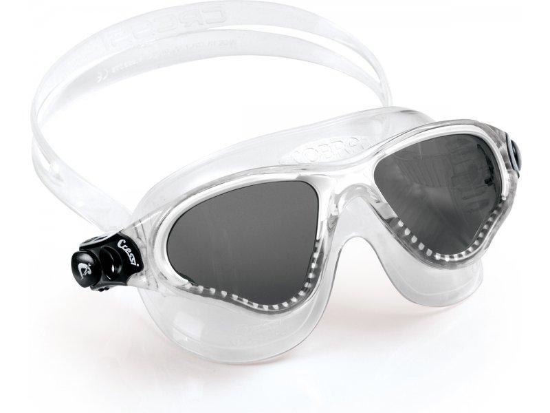Очки Cressi Cobra Прозрачный Силикон/темные Линзы/прозрачная Рамка