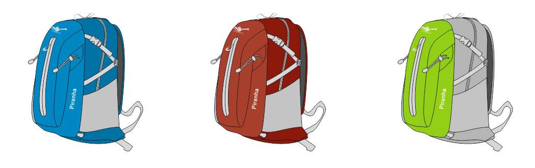 Рюкзак Снаряжение Piranha 20 Св.зеленый фото