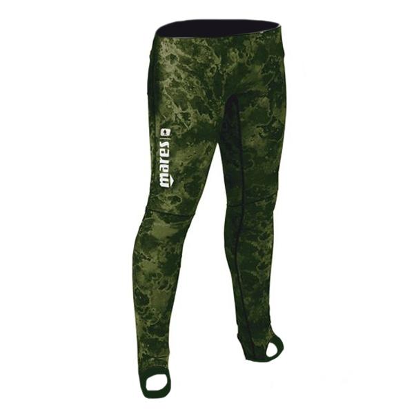 Штаны Короткие Гидрокостюма Mares Rash Guard, Лайкра, Цвет Зеленый Камуфляж