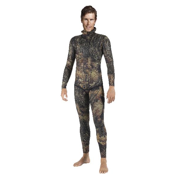 Куртка Гидрокостюма Для Подводной Охоты Mares Sf Illusion 30, 3Мм, С Открытой Порой Внутри, Цв.чёрный Камуфляж