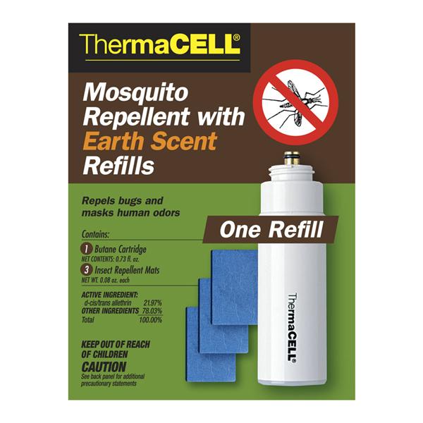 Набор Thermacell (1 Газовый Картридж + 3 Пластины) С Запахом Земли фото