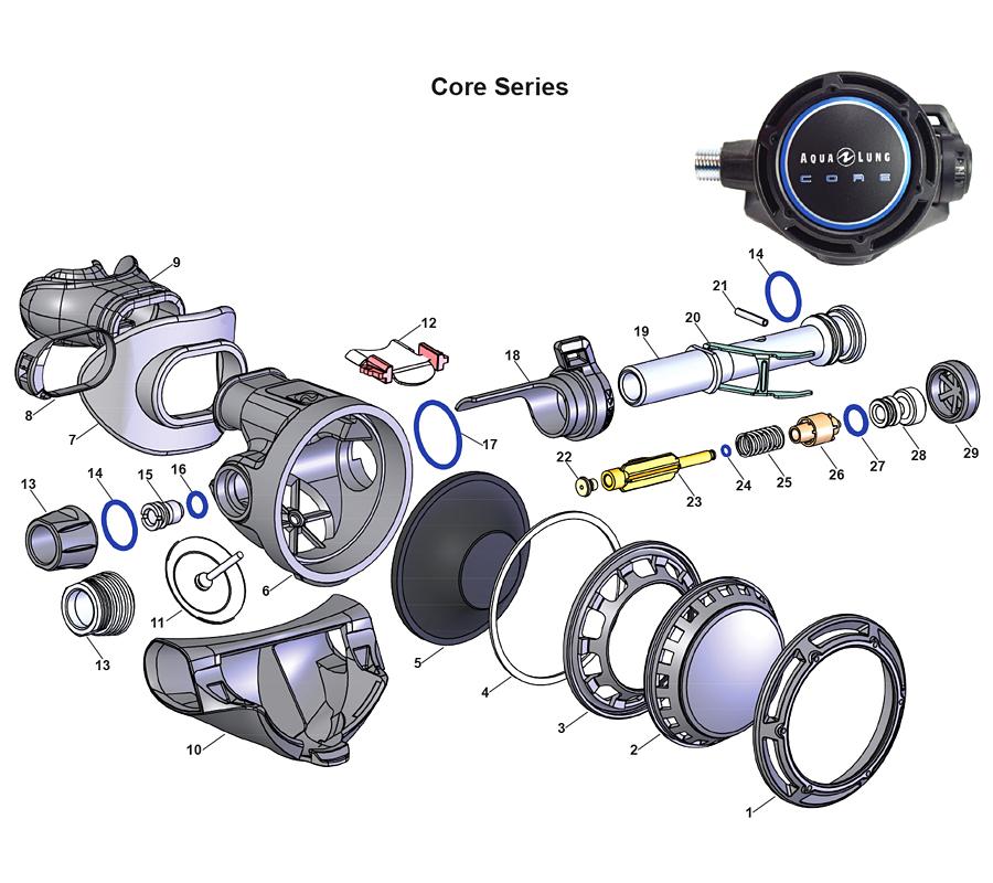 Клапан Для Подъемного Устройства Aqua Lung