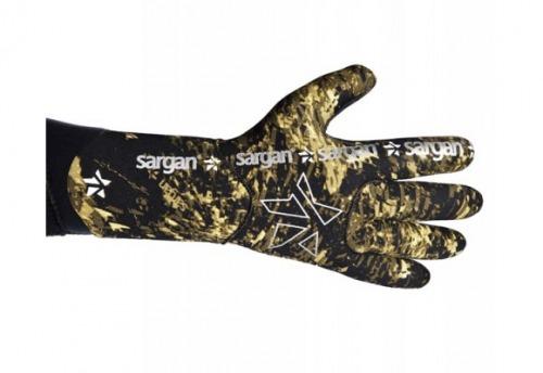 Перчатки Для Подводной Охоты Неопреновые Sargan Калан Камо Rd2.0  4.5Мм