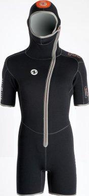 Гидрокостюм Для Дайвинга Aqualung Dive Муж. 5.5Мм Куртка Со Шлемом