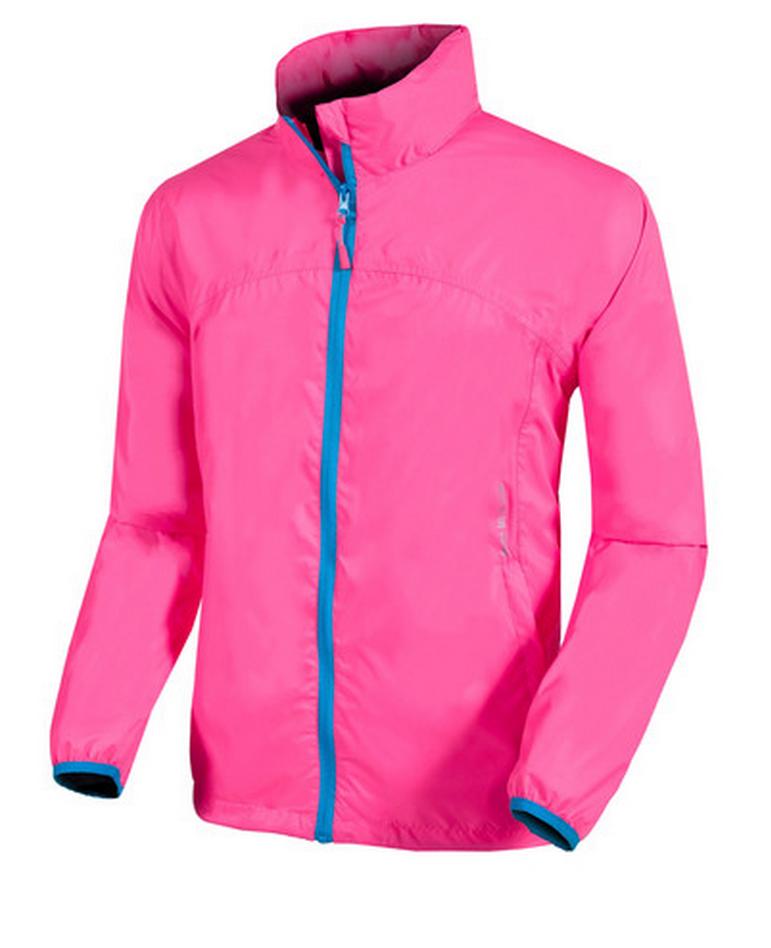 Ветровка мужская непромокаемая мембранная Mac In A Sac NEON розовая, 6705  - купить со скидкой