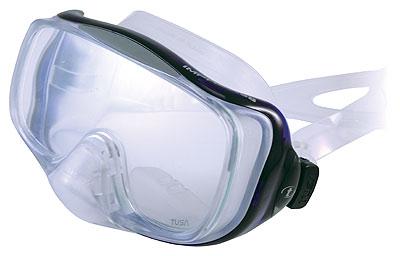 Маска Подводная Tusa Imprex 3D Hyperdry (Прозрачный Силикон) Aqua
