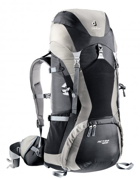 Фото рюкзак deuter act lite 40+10 black/silver