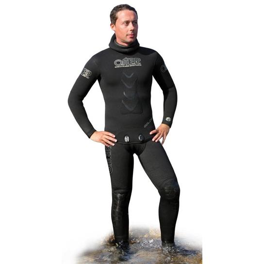 Куртка От Гидрокостюма Для Подводной Охоты Omer Gold Black 9 Мм - 4