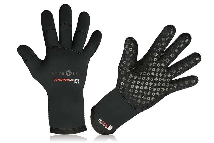 Перчатки Для Подводной Охоты Неопреновые Aqualung Thermo Flex 3Мм фото