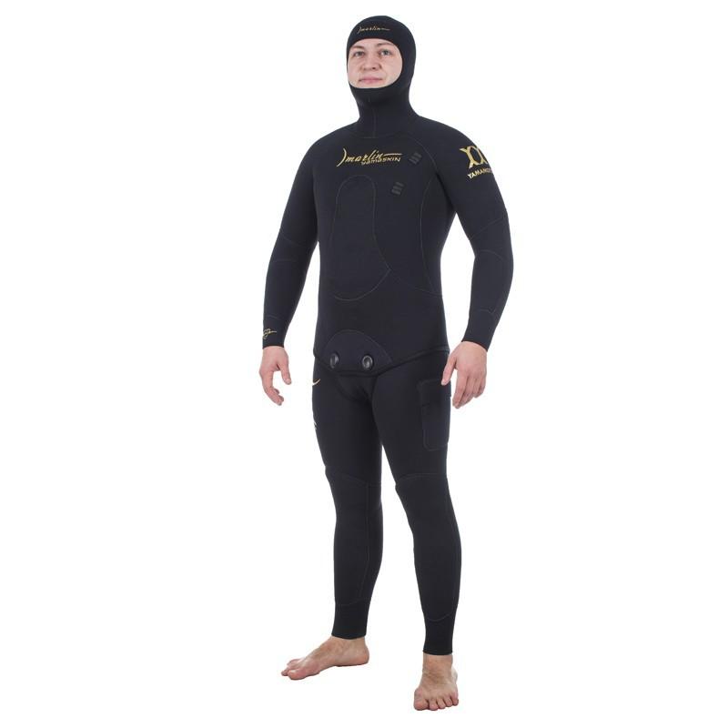 Гидрокостюм Marlin Yamaskin Black, 9 Mm