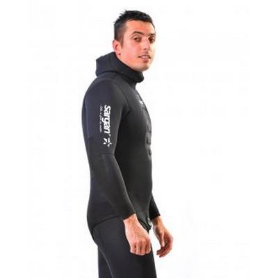 Куртка От Гидрокостюма Sargan Калан 2.0 7 Мм