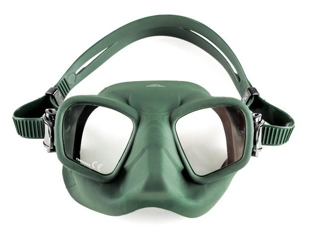 Маска подводная Scorpena T (зеленый силикон) зеленая, SCO10020047  - купить со скидкой