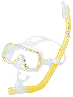 Набор Tusa Mini-Kleio Combo Желтый (Прозрачный Силикон)