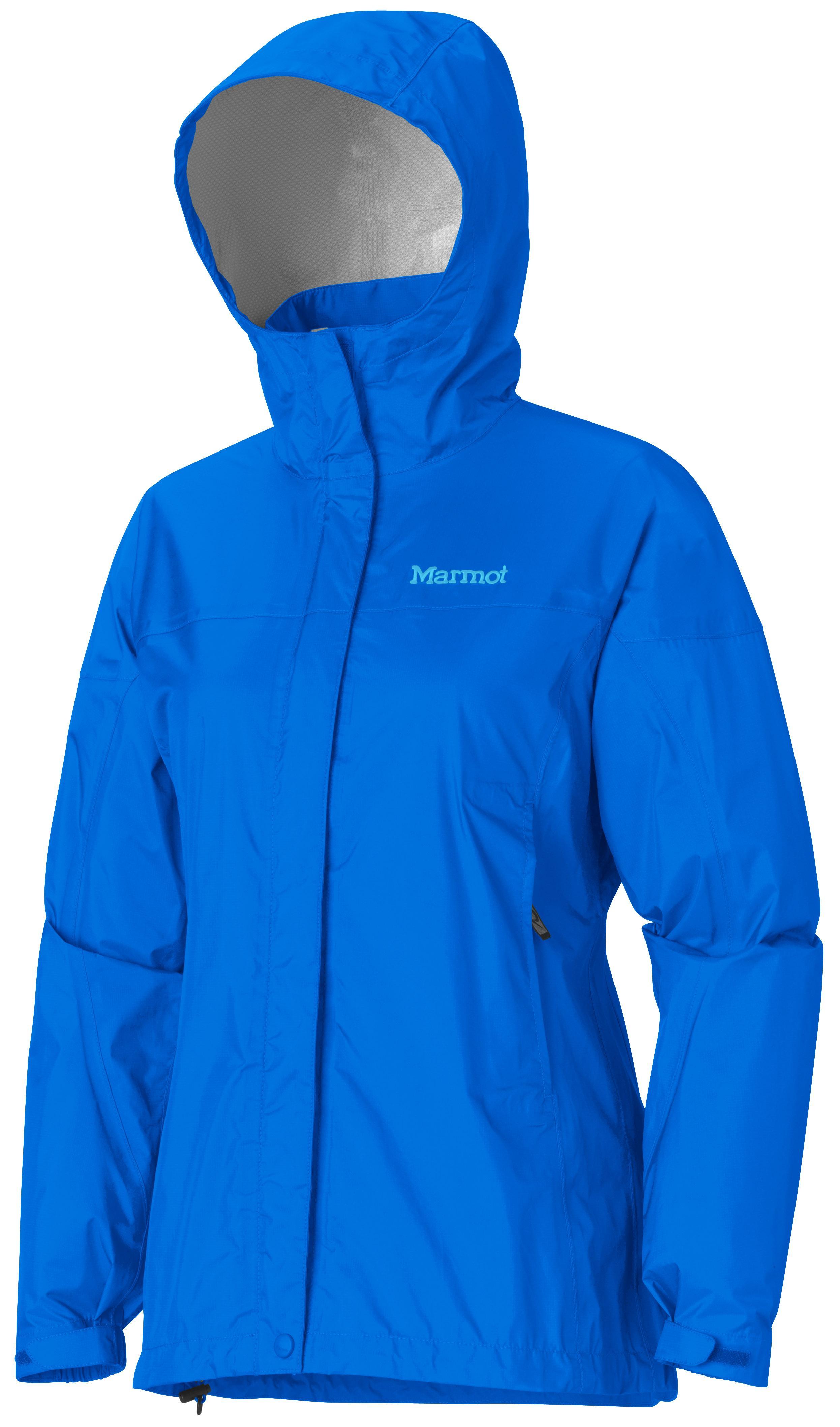 Ветровка Женская Спортивная  Marmot Precip Jacket Lady Vivid Blue