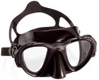 Маска Подводная Cressisub Occhio Plus (Черный Силикон)