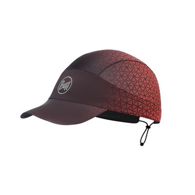 Кепка Buff Pack Run Cap R-Equilateral Red