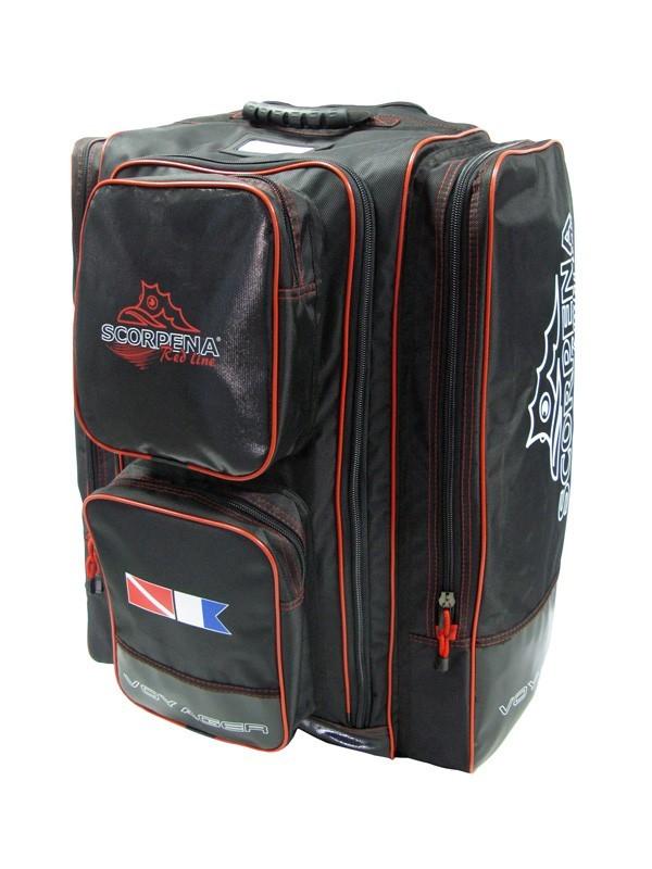 Сумка-рюкзак на колёсах Scorpena Swim - Voyager, SCO24024007  - купить со скидкой