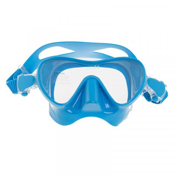 Маска Подводная Marlin Frameless Duo (Синий Силикон) Blue фото