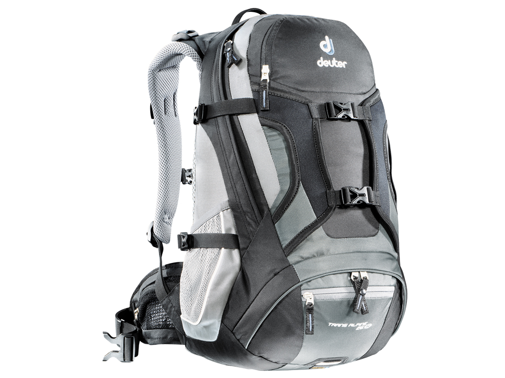 Велорюкзак Deuter Trans Alpine 30 Black/granite