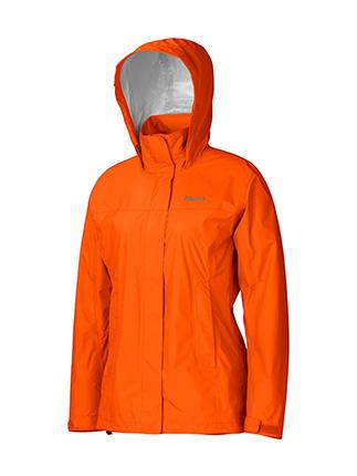 Ветровка Женская Спортивная  Marmot Precip Jacket Lady Sunset Orange