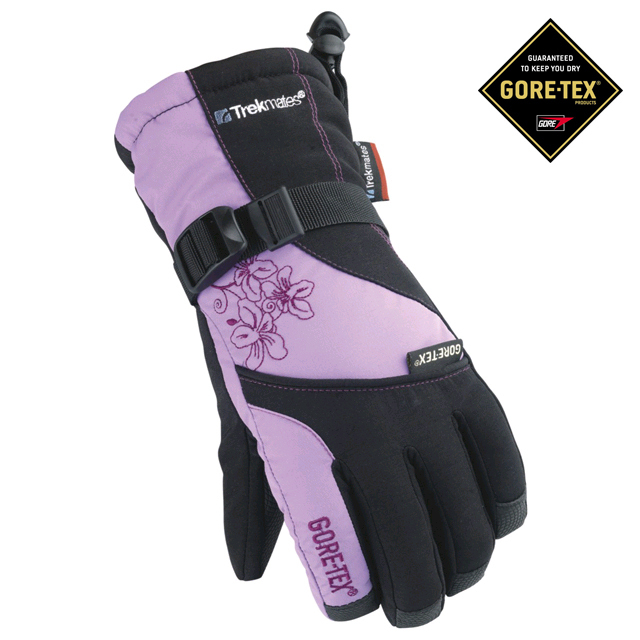 Перчатки Trekmates Gore-Tex Carbongtx Жен. Черные фото