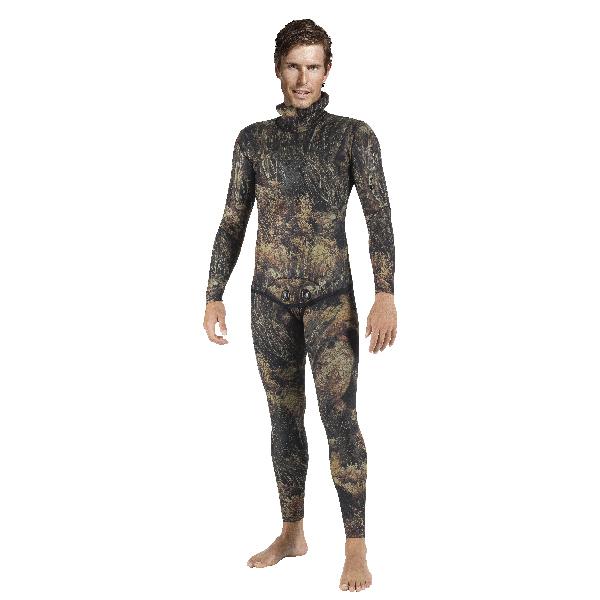 Штаны Гидрокостюма Для Подводной Охоты Mares Sf Illusion 30, 3Мм, С Открытой Порой Внутри, Цв.чёрный Камуфляж