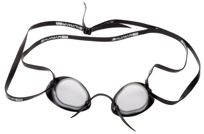 Очки для плавания FLUYD NUOTO PRO Прозрачный силикон, дымчатые линзы, 000075A  - купить со скидкой