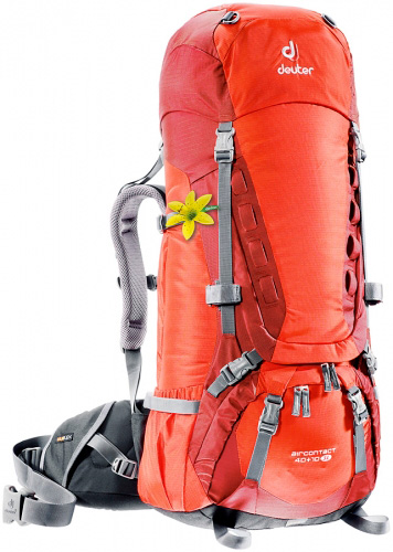 Рюкзак Deuter Aircontact 40+10 Sl Papaya/lava фото