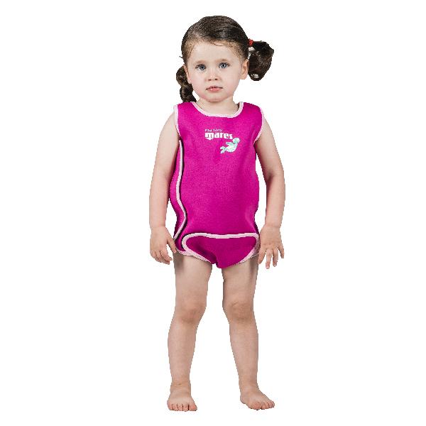 Плавательный Костюм Mares Baby Wrap, 2,5Мм, Детский - Синий