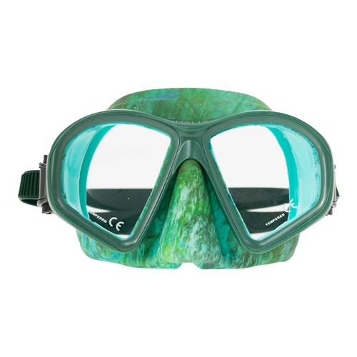 Маска Marlin MATTE, зеленый камуфляж, 13434  - купить со скидкой