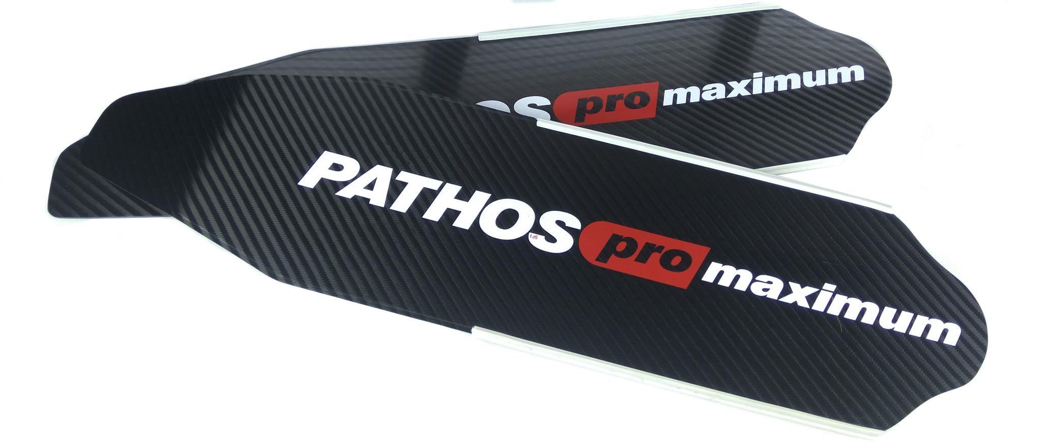 Лопасти Pathos Pro Maximum Hard (2Шт.) Карбон фото