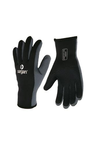 Перчатки Для Подводной Охоты Неопреновые Sargan Сарго Black 3Мм