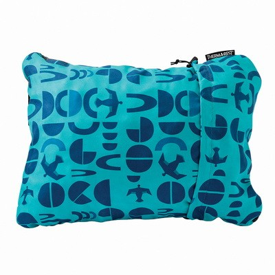 Подушка Therm-a-Rest COMPRESSIBLE PILLOW Medium bluebird, 10420  - купить со скидкой
