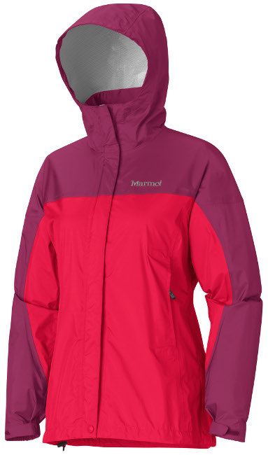 Купить со скидкой Ветровка Женская Спортивная  Marmot Precip Jacket Lady Lipstick/plum Rose