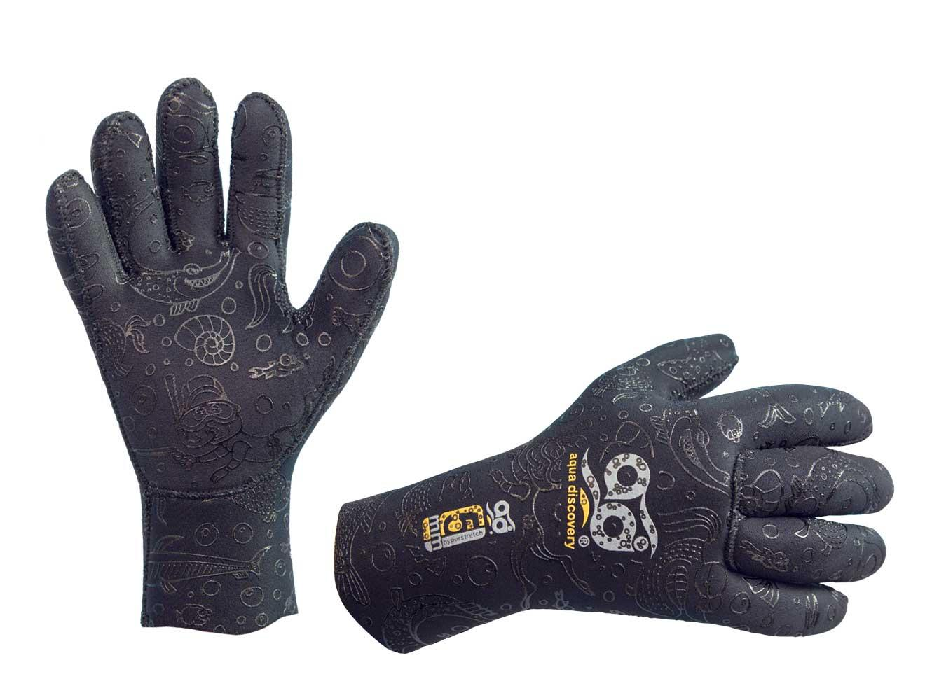 Перчатки Неопреновые Aquadiscovery Hyperstretch