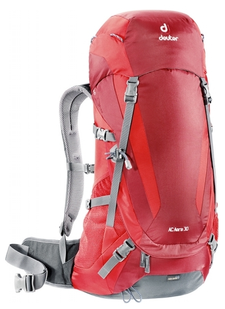 Фото рюкзак deuter ac aera 30 cranberry/fire