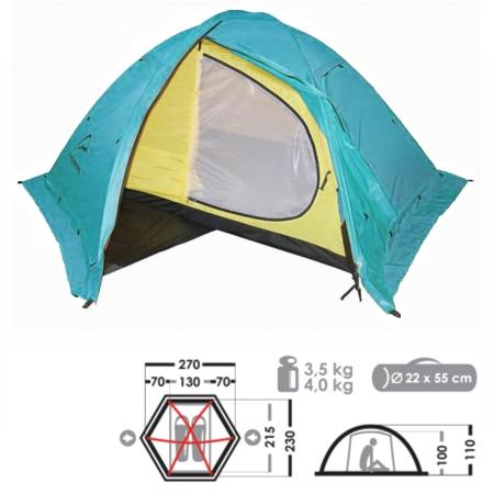 Палатка Нормал Кондор 2 N Мор.волна фото