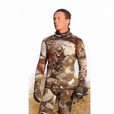 Куртка От Гидрокостюма Для Подводной Охоты Omer 3-D Camu 7 Мм - 4