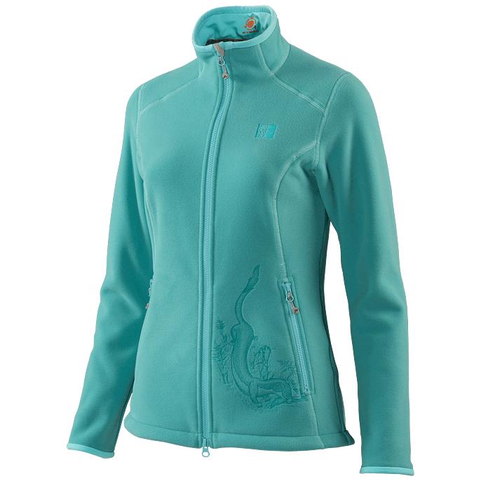 Куртка флисовая спортивная теплая Сивера ЛАСКА 2.1 бриз, 150070-1-1  - купить со скидкой