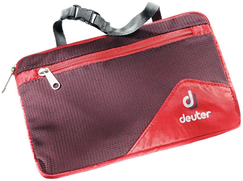 Косметичка Deuter WASH BAG LITE Il fire/aubergine, 3900116_5513  - купить со скидкой