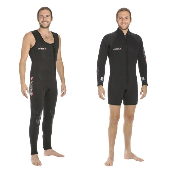 MARES ROVER TWIN Гидрокостюм 5 мм, Куртка + штаны с лямками, Унисекс, 412356-1  - купить со скидкой