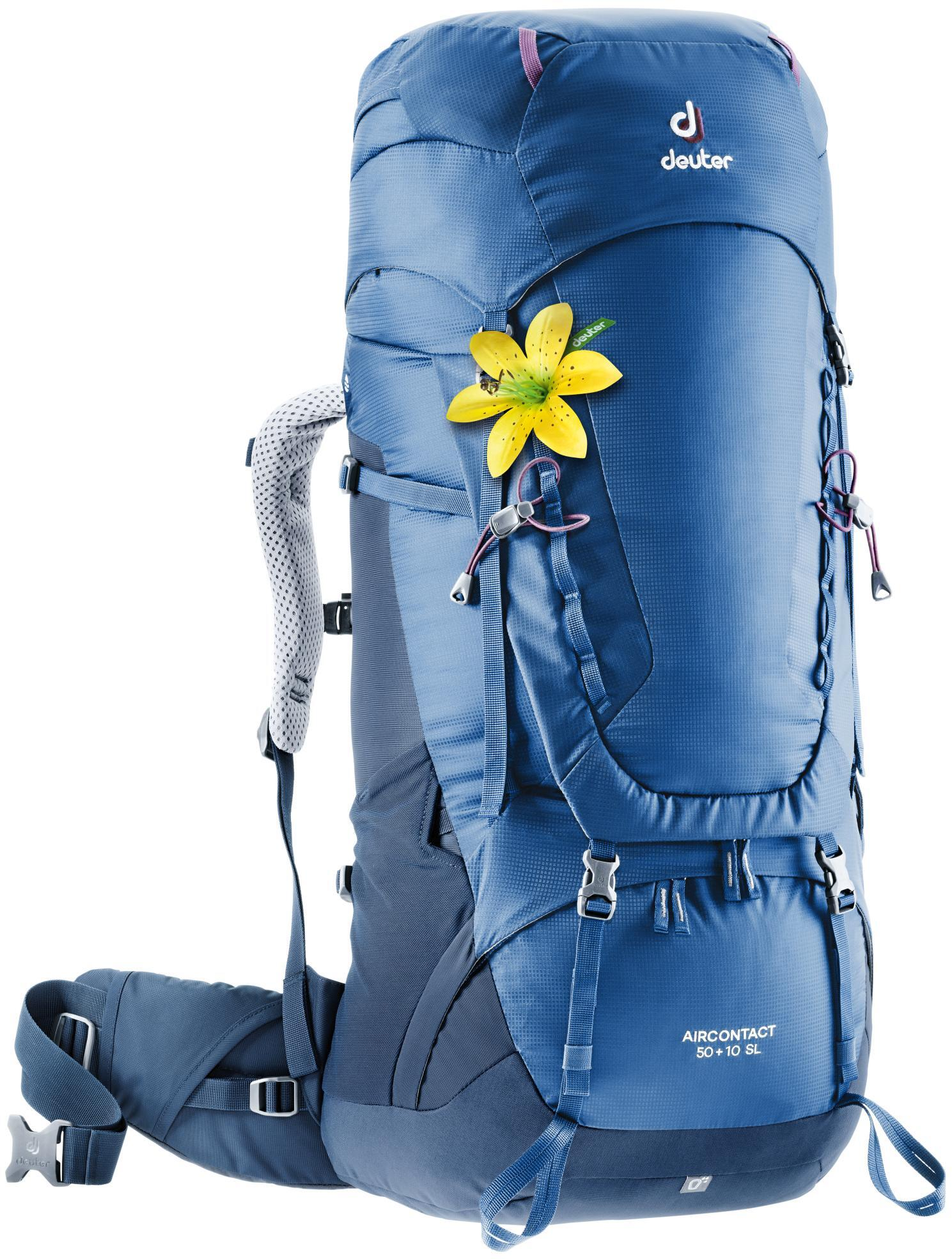 Рюкзак Deuter Aircontact 50+10 Sl Steel/midnight