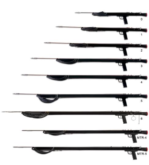 Riffe Metal Tech #5S 157 См Задняя Рукоятка Подводный Арбалет L 62