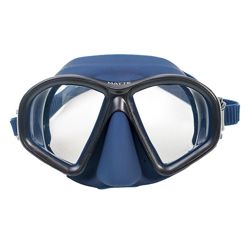 Маска Marlin MATTE BLUE, 11182  - купить со скидкой