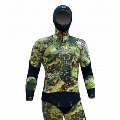 Куртка От Гидрокостюма Aquadiscovery Волга Camo 3D 5 Мм